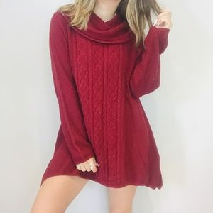 NWT Jeanne Pierre cable knit sweater